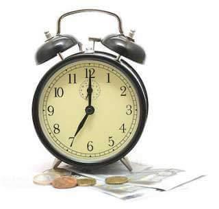 Snel geld lenen klok