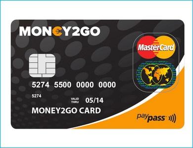 Money2Go - creditcard zonder BKR