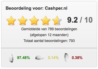 totaal beoordeling Cashper