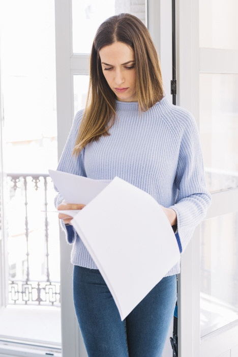 Minilening en papierwerk