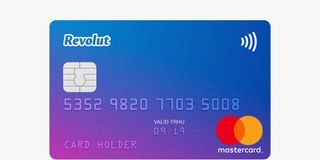 Revolut Mastercard debitcard