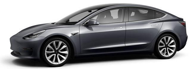 Tesla Model 3 buitenkant
