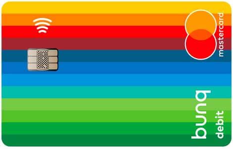 bunq travelcard prepaid