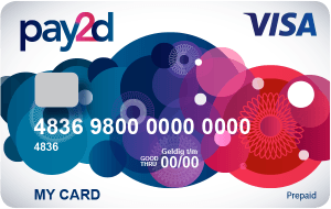 Pay2day card