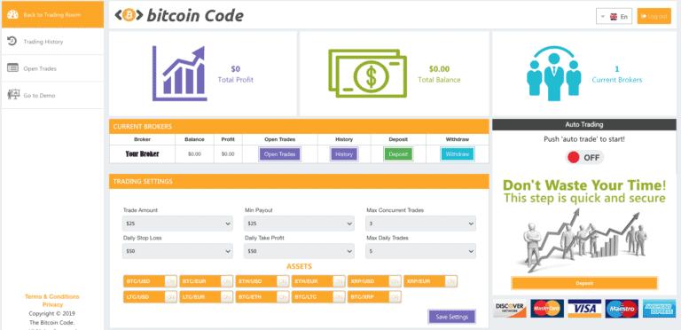 Hoe werkt de handel met Bitcoin Code