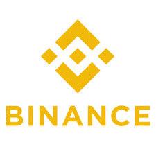 Binance logo groot vierkant