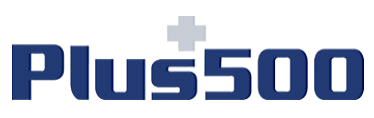 plus500 blauw logo
