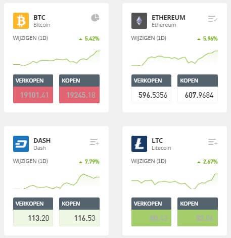 beleggen in cryptocurrency