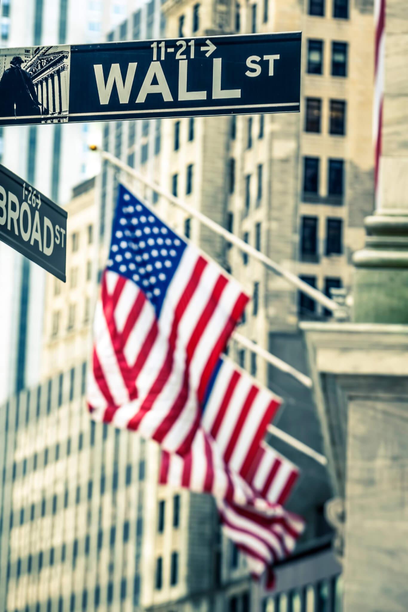 beleggen aandelen wall street