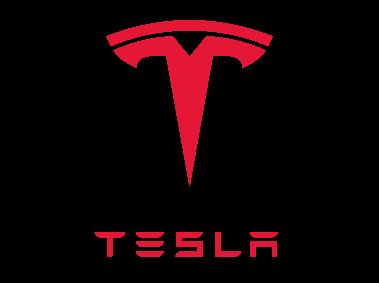 tesla logo aandeel