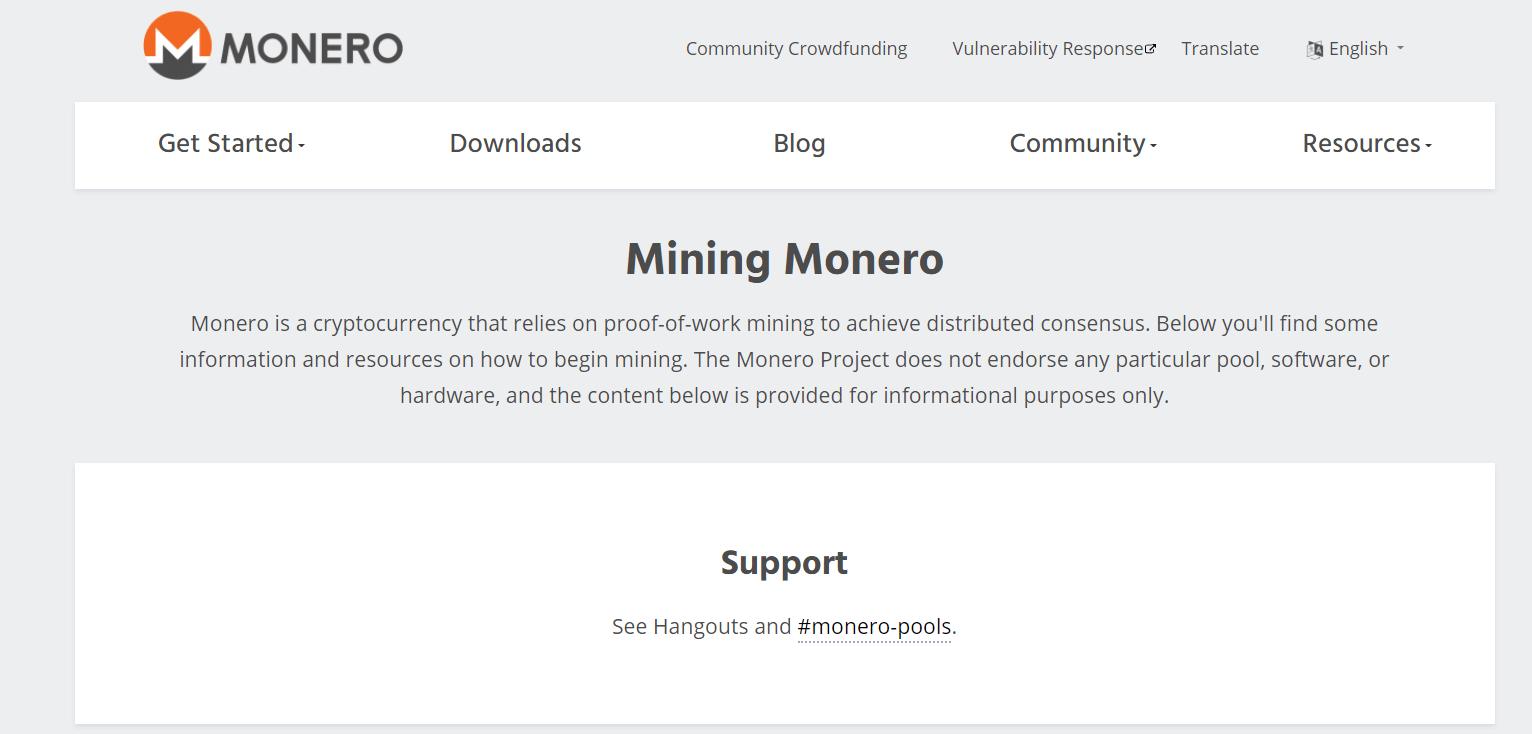 koers Monero mining
