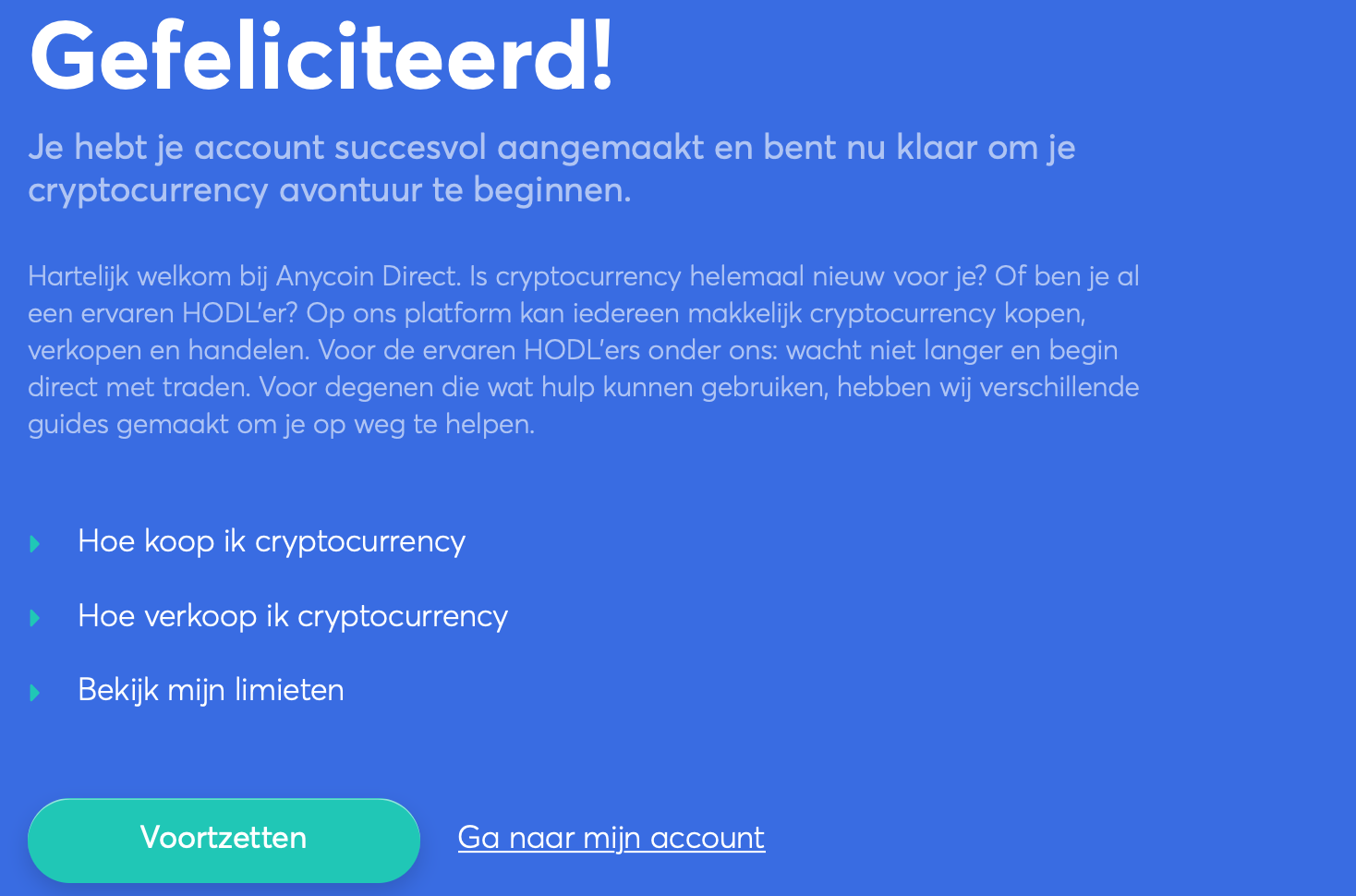 begin met anycoin