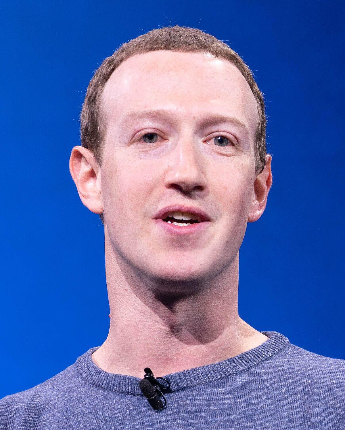 Facebook aandeel Mark Zuckerberg
