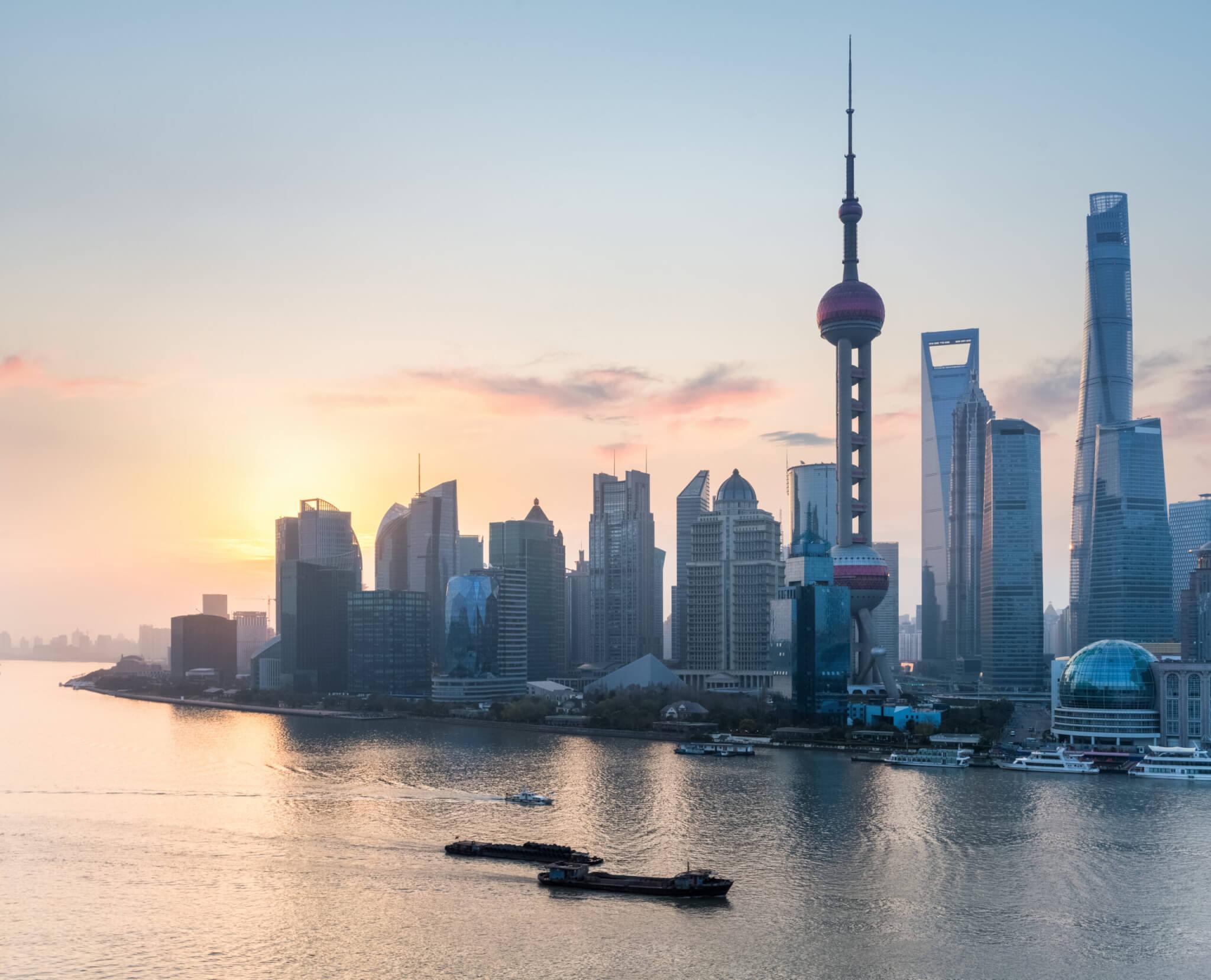 beurzen China shanghai