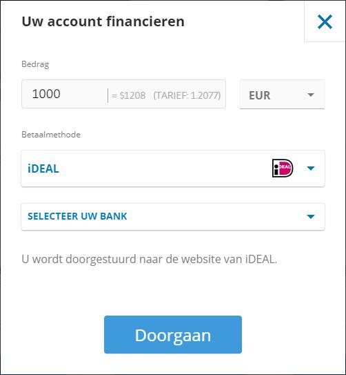 etoro copy trading account financieren
