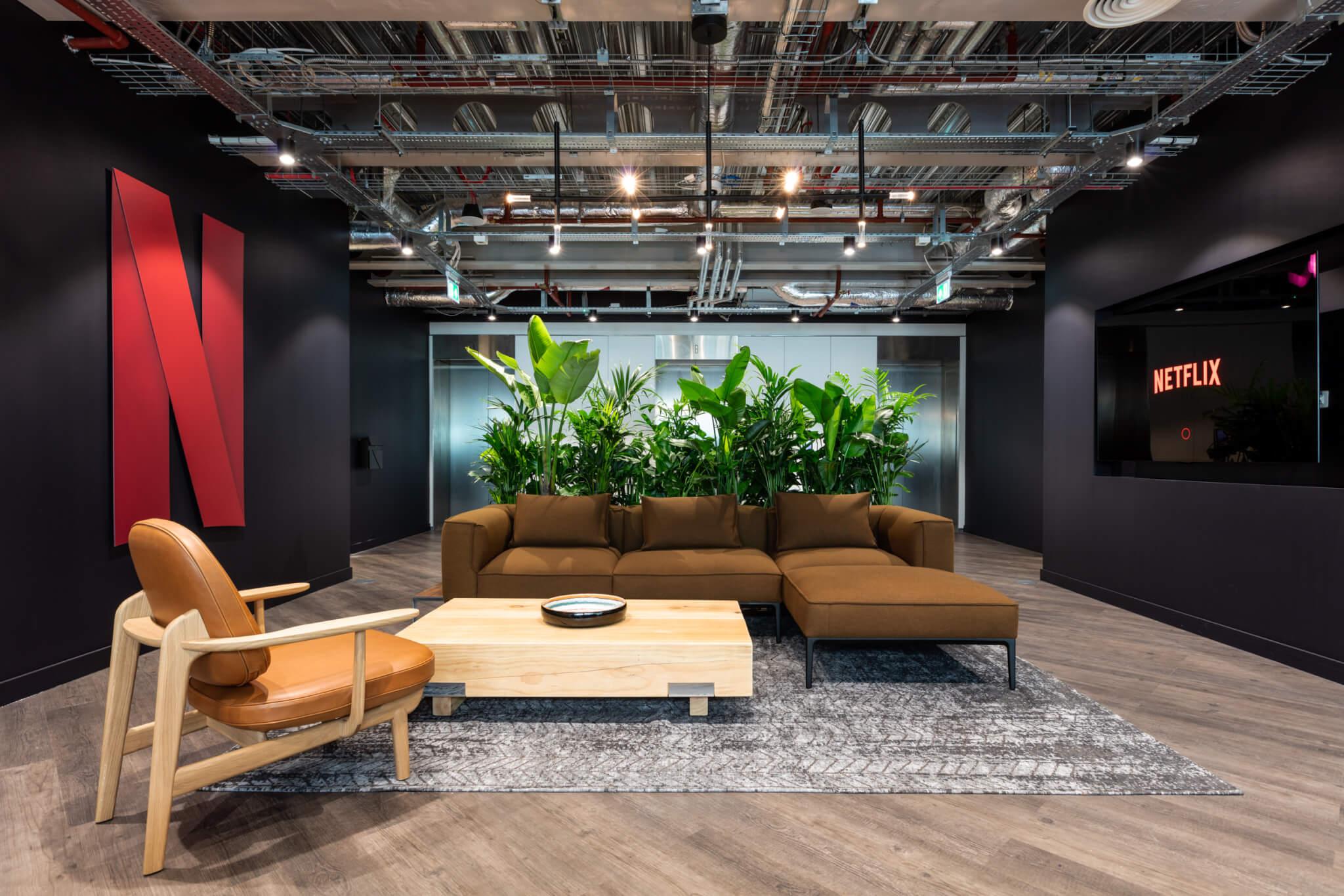 Netflix aandeel londen HQ