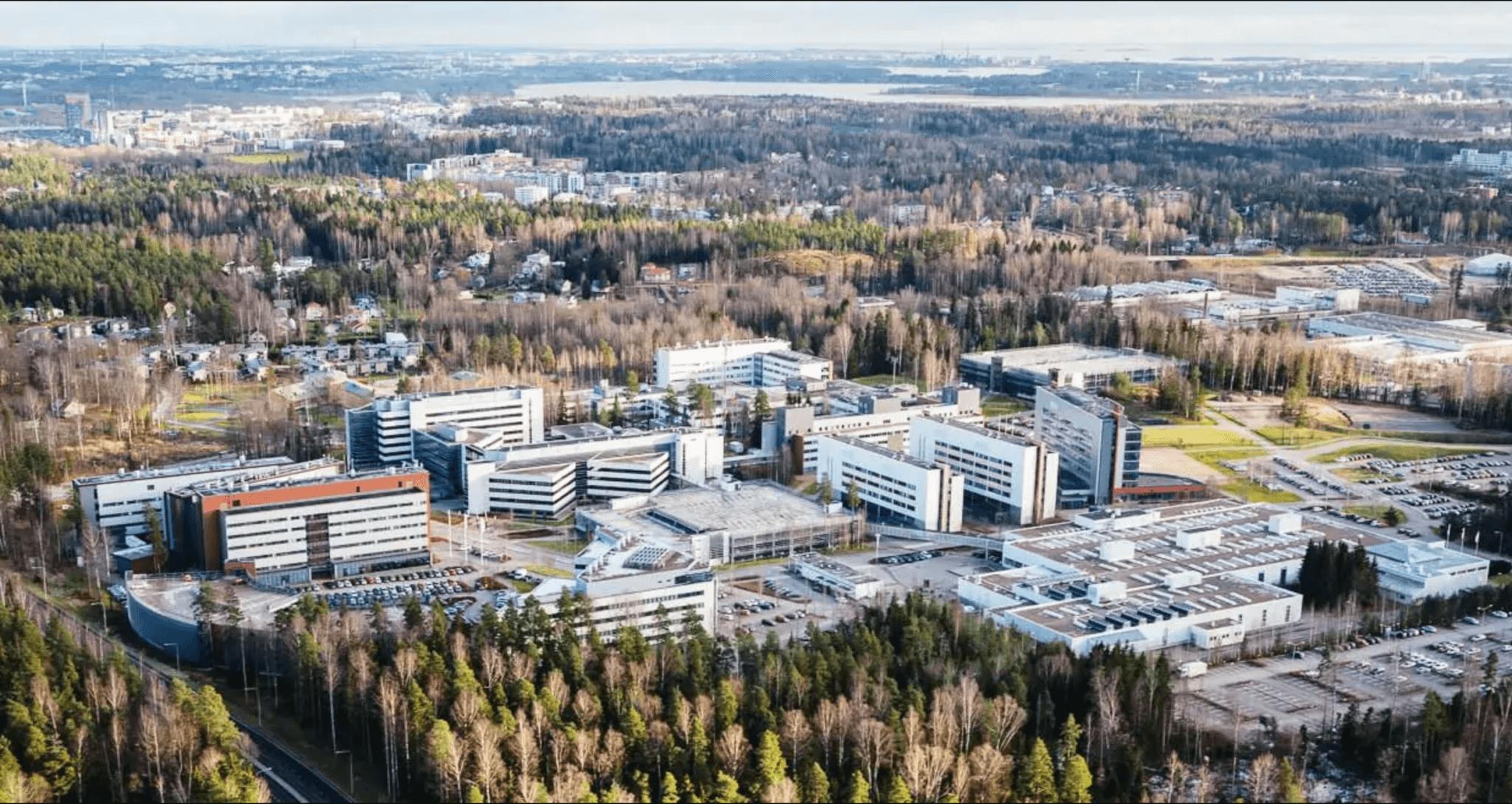Nokia aandeel campus