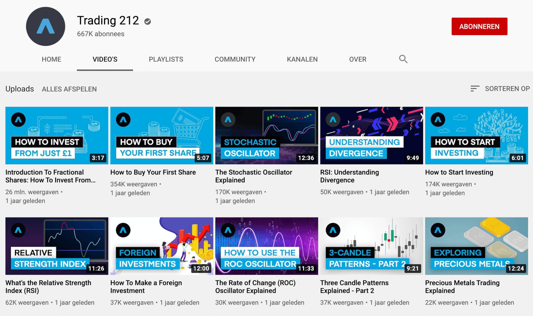 Trading 212 youtube tutorials