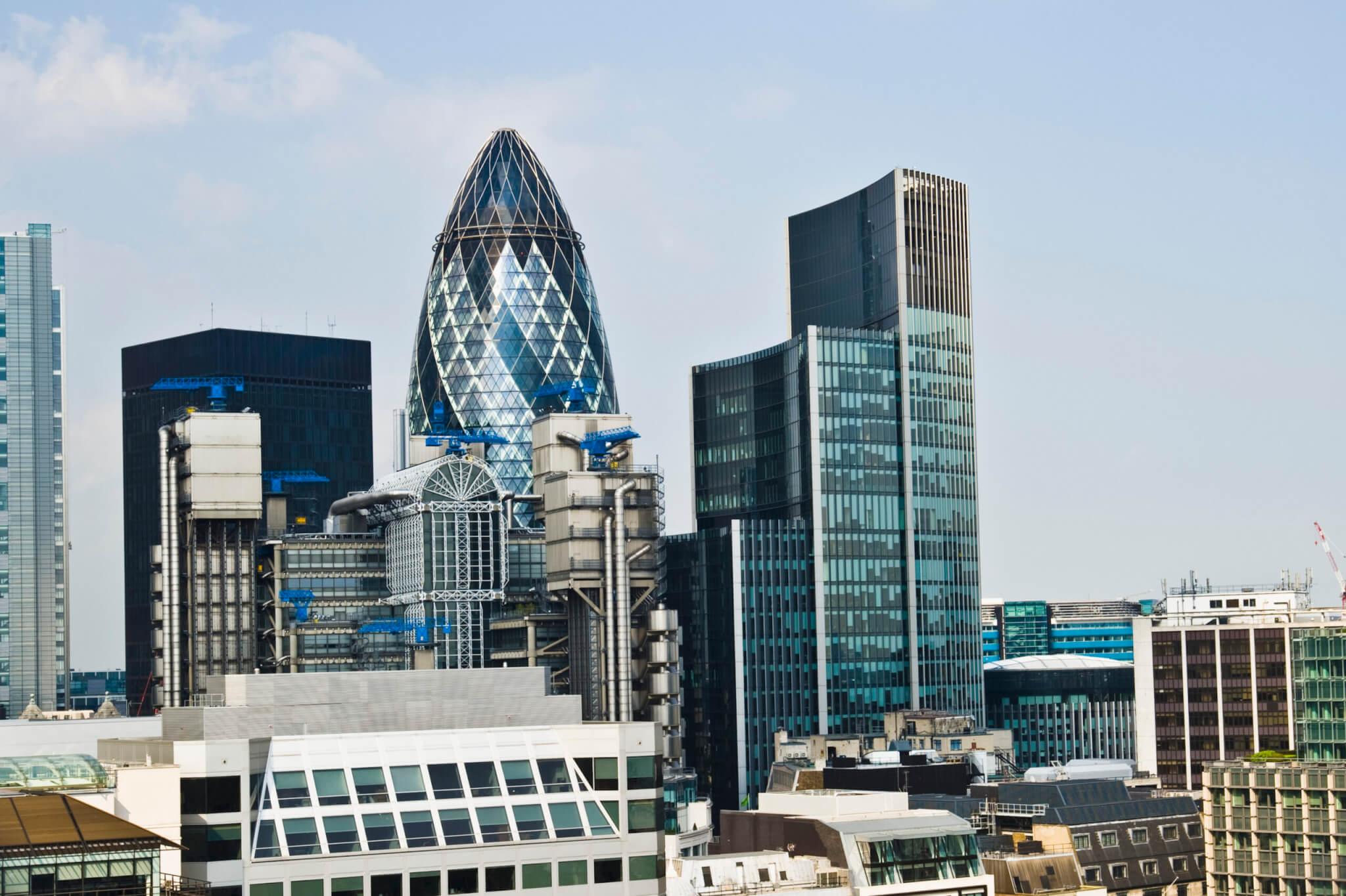 FTSE100 index london