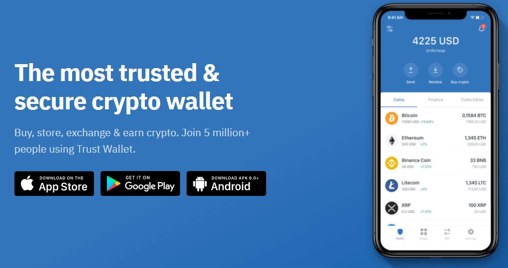 chainlink trust wallet binance
