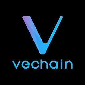 vechain kopen logo