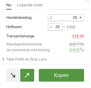 trading robot libertex transactie openen