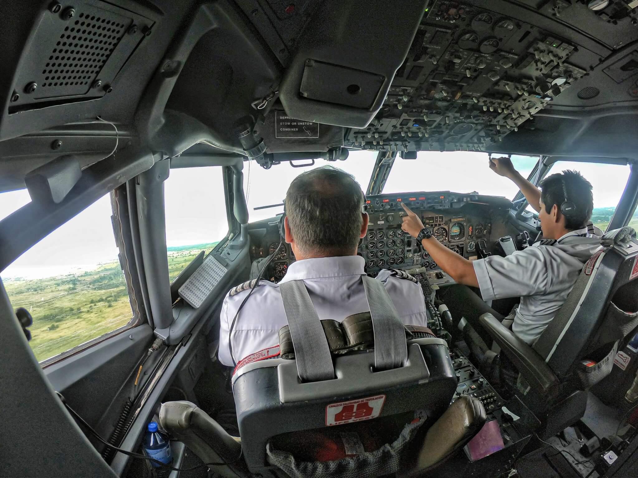 aandeel Boeing vliegtuig