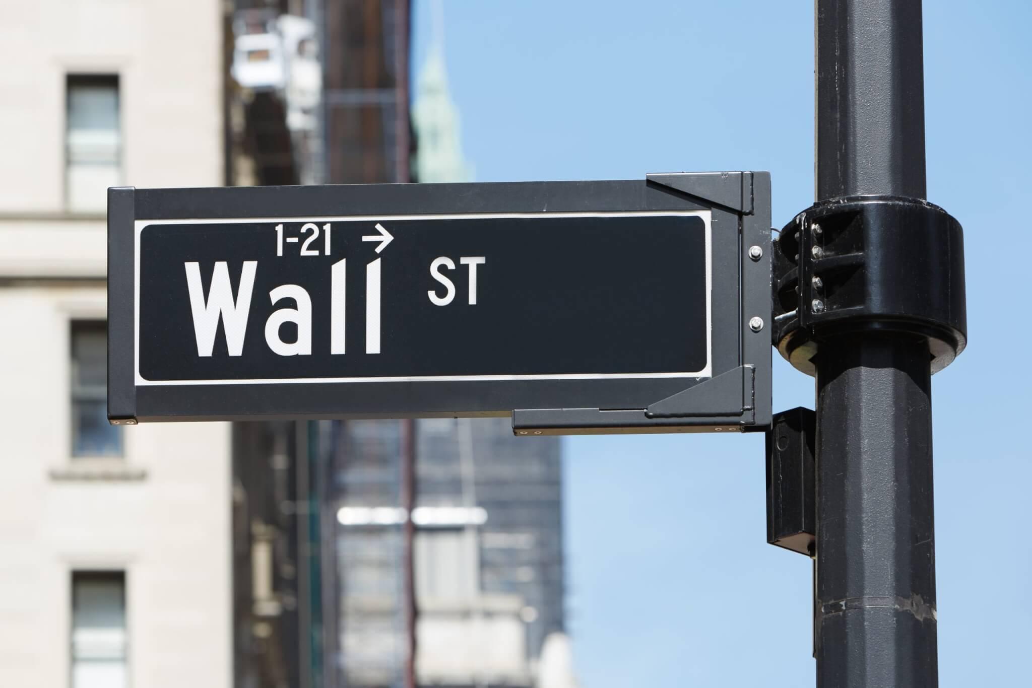 wall street nasdaq stock trading