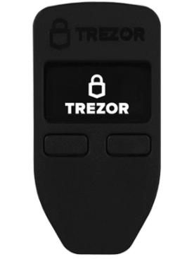 Trezor one hardware wallet