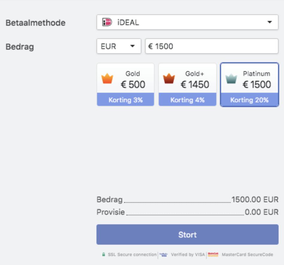 Betalen bij Libertex blockchain wallet review