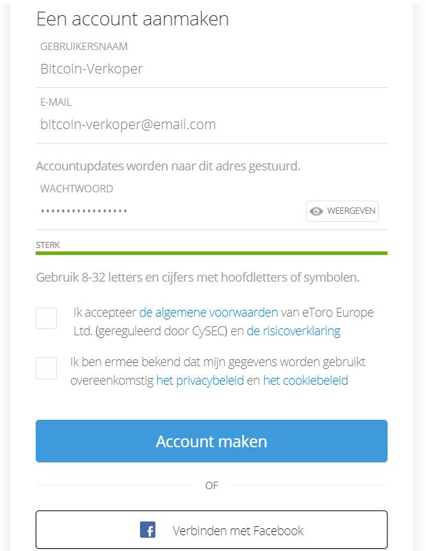 btcoin verkopen