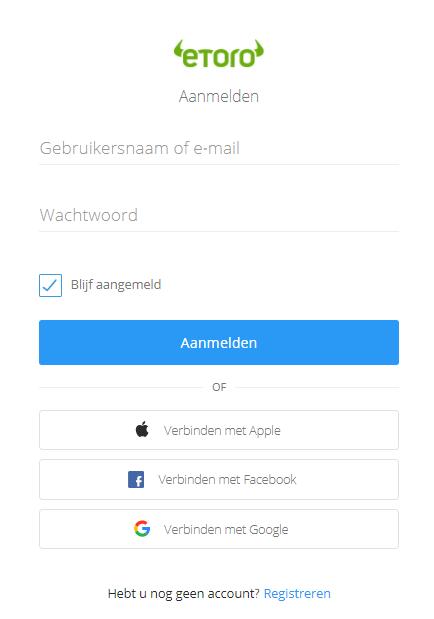 etoro aanmelden forex app