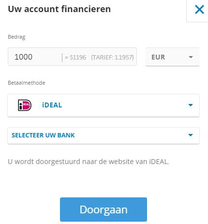 ideal betalen forex app