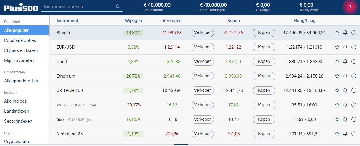 plus500 bitcoin app