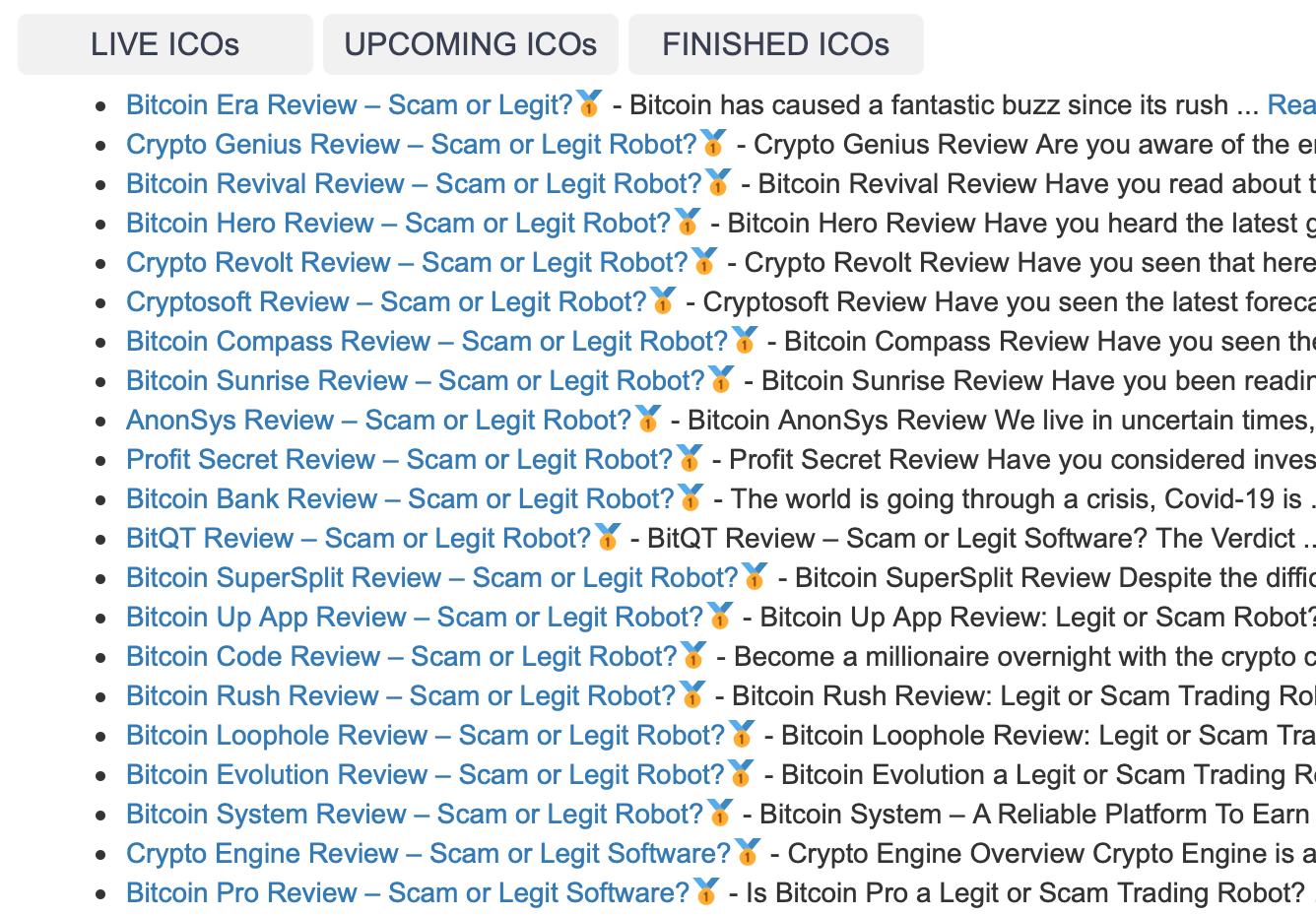 ico crypto watchlist