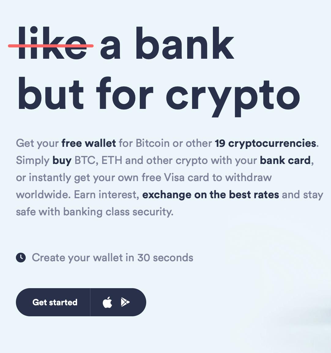 Crypterium review startpagina