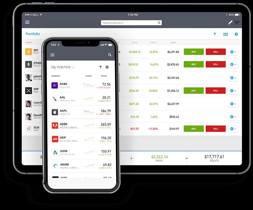 bittorrent coin kopen app interface etoro