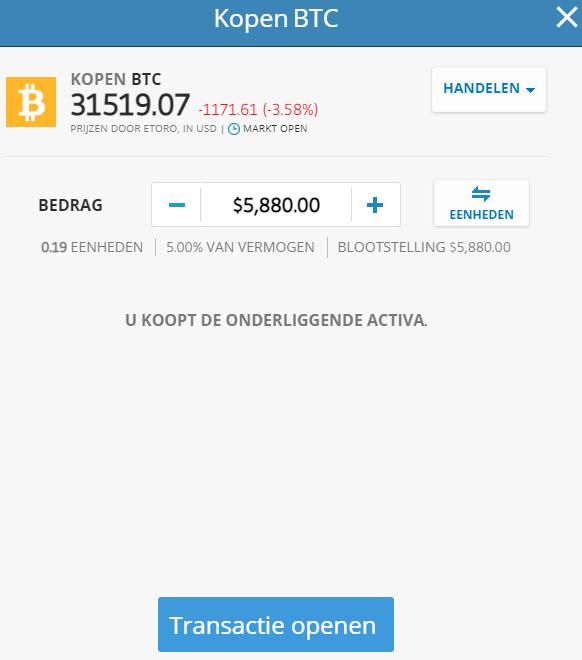 bitcoin kopen beste investering