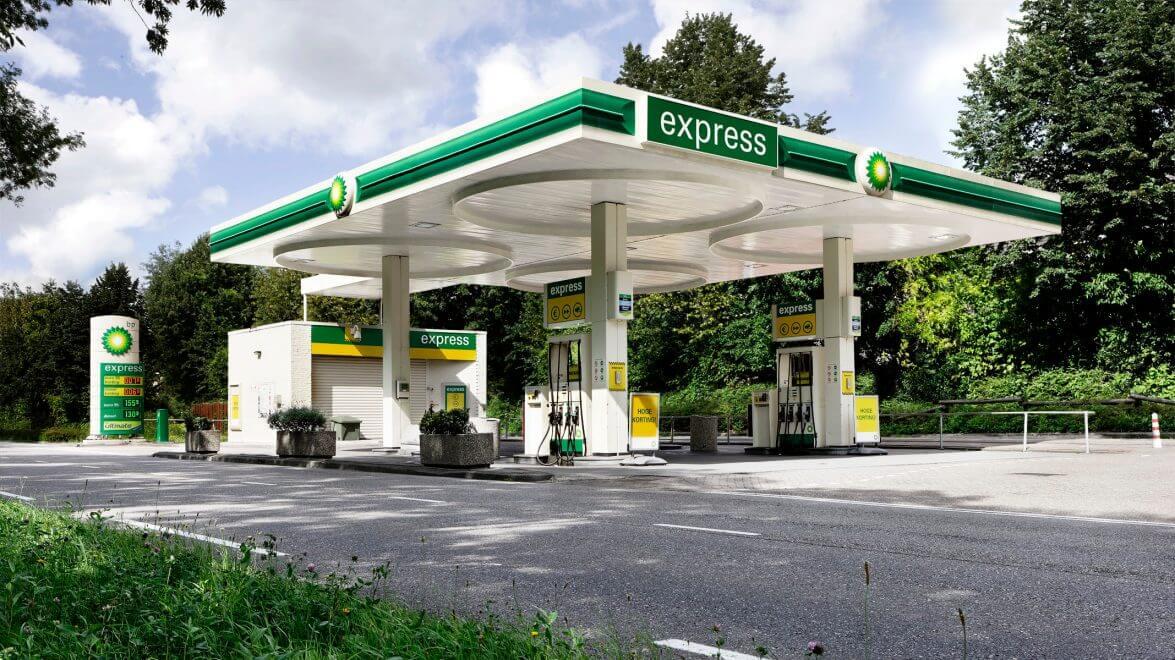 aandel BP tankstation