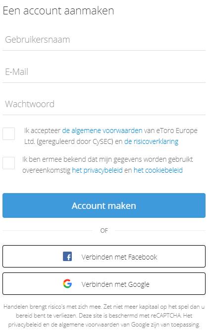 Metamask review account aanmaken bij eToro