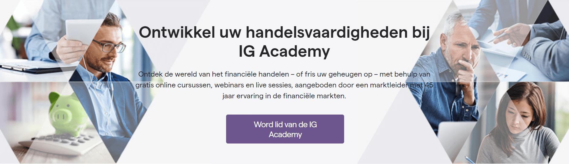 IG Broker review academy