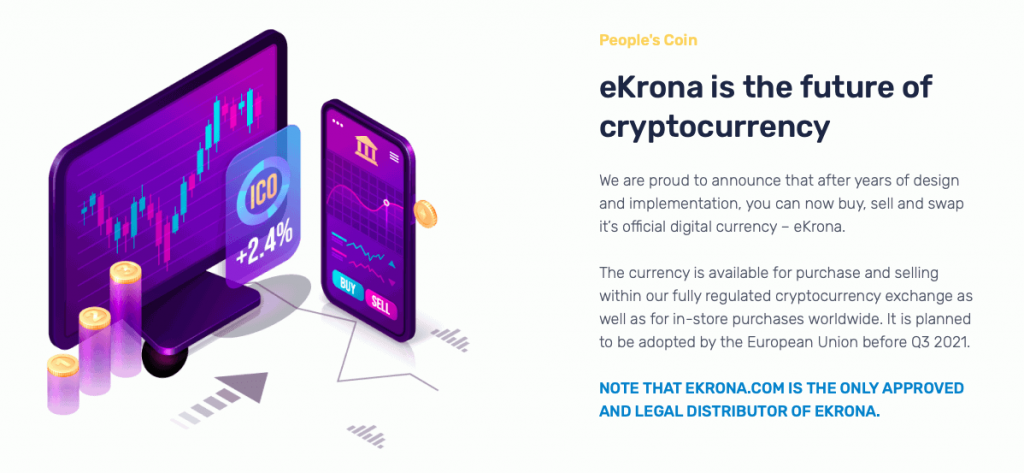 ekorona is the future of cryptocurrency