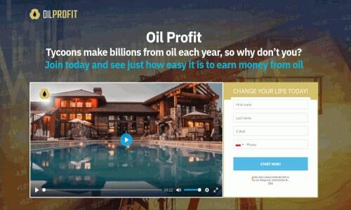 oil profit main page