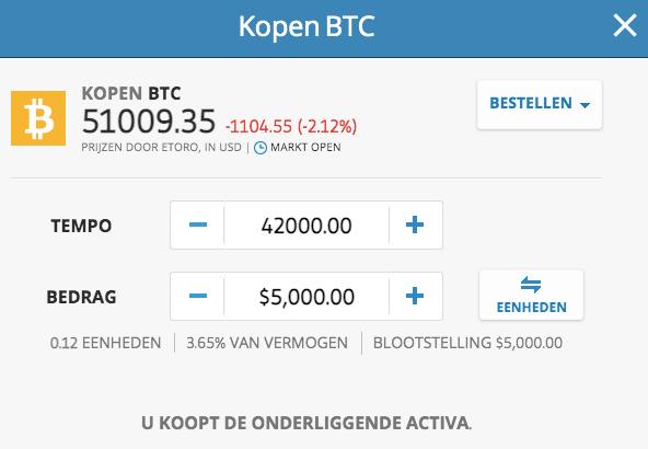 veilig bitcoin kopen