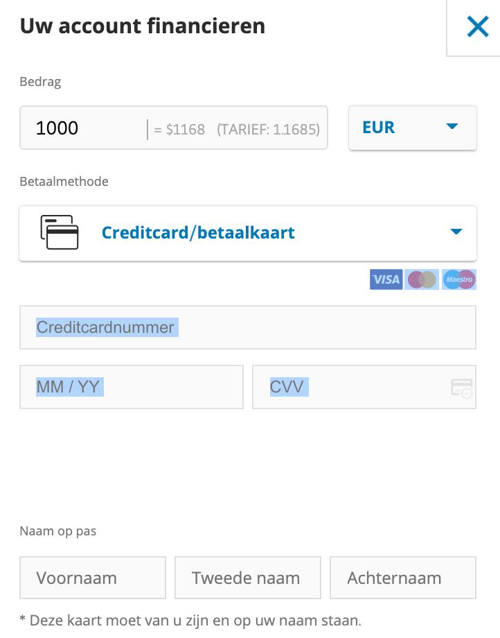 etoro bitcoins kopen met creditcard