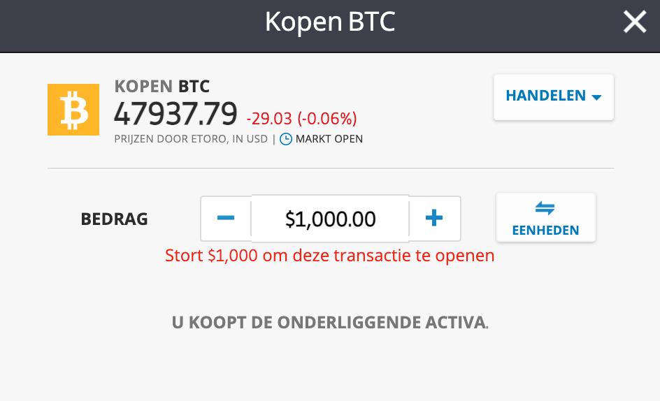 cryptomunten kopen bitcoin