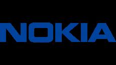 nokia aandeel logo blue